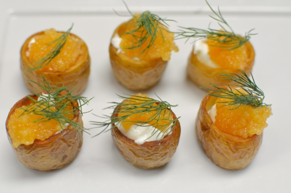 ... option, the ladies were delighted with a trio of deviled eggs